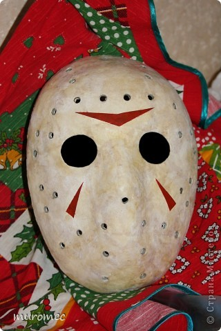 Год выполнения 2010. ----------------------------- Доработано в 2011. ----------------------------- Создание маски Jason,а (Пятница 13е) фото 25