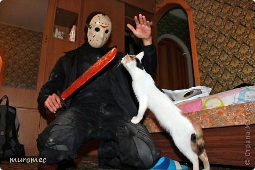 Год выполнения 2010. ----------------------------- Доработано в 2011. ----------------------------- Создание маски Jason,а (Пятница 13е) фото 27