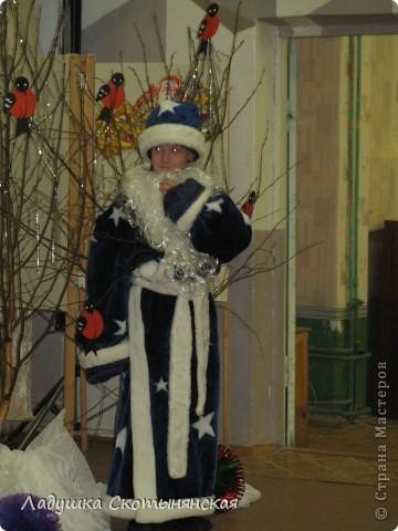 """Панно """"Снеговик"""" украшало одну из стен в зале. фото 5"""