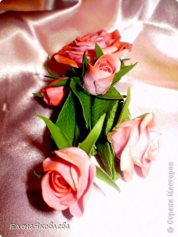 Розовые розы для моей дочурки!
