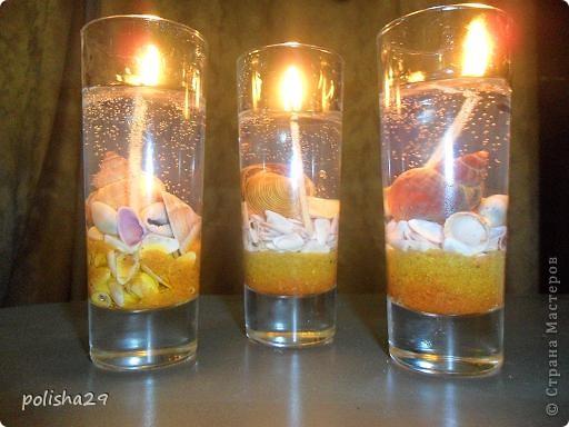 Фото гелевых свечей своими руками