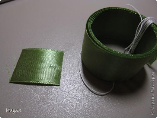 Мастер-класс Вышивка МК мака из атласной ленты Ленты фото 2