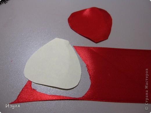 Мастер-класс Вышивка МК мака из атласной ленты Ленты фото 7