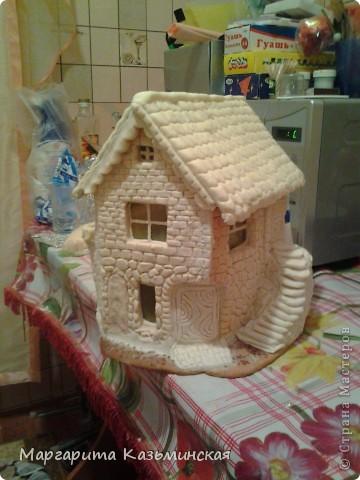 Как сделать домик своими руками из соленого теста