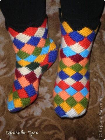 Схемы прикольных носков