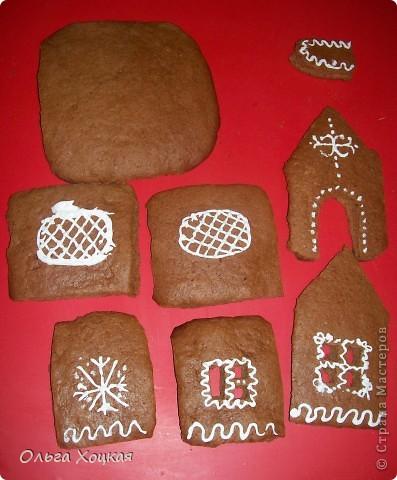 Кулинария Мастер-класс Новый год Рождество Рецепт кулинарный Пряничный домик Продукты пищевые фото 8