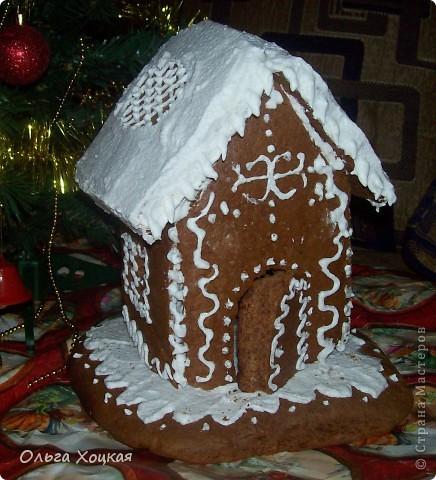 Кулинария Мастер-класс Новый год Рождество Рецепт кулинарный Пряничный домик Продукты пищевые фото 1