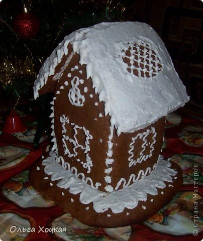 Кулинария Мастер-класс Новый год Рождество Рецепт кулинарный Пряничный домик Продукты пищевые фото 9