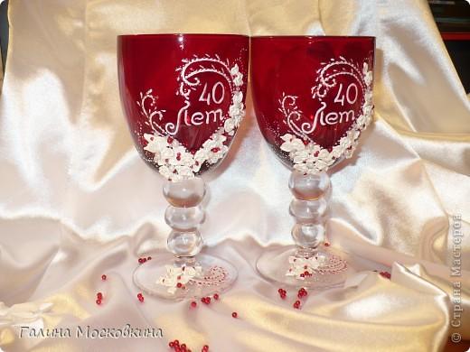 Что подарить на рубиновую свадьбу своими руками