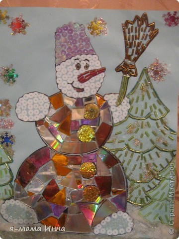 Снеговик поделка своими руками на новый год