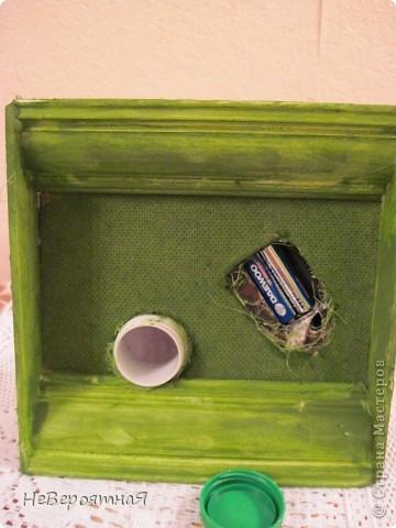 Поделка изделие Бисероплетение Папье-маше Роспись Ночник+копилка Бисер Гипс Гуашь Краска Пенопласт фото 9.