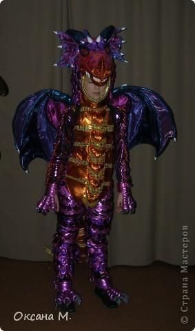Такой костюм ДРАКОНА получился в этом году. фото 24