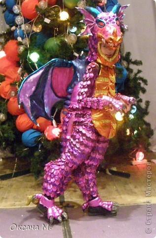 Такой костюм ДРАКОНА получился в этом году. фото 25