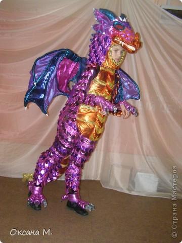 Такой костюм ДРАКОНА получился в этом году. фото 27