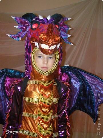 Такой костюм ДРАКОНА получился в этом году. фото 3