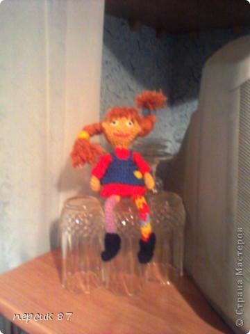 Эта кукла была сделана мной для мамы....