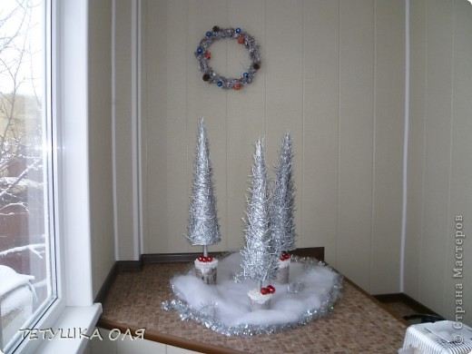 Эти елочки- для украшения дома. фото 1