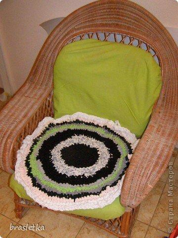 Коврик-сидуха в кресло. фото 2