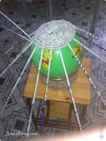 Мастер-класс Плетение Митуюк бумажный  Бумага газетная Трубочки бумажные фото 7