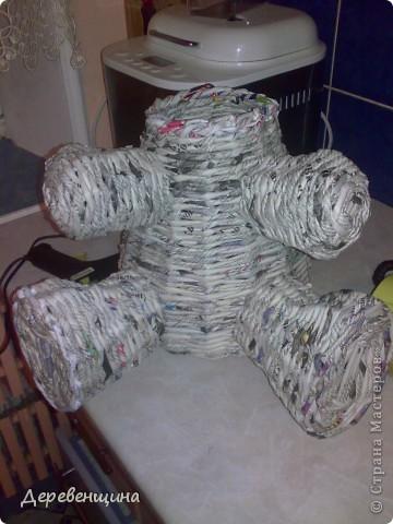 Мастер-класс Плетение Митуюк бумажный  Бумага газетная Трубочки бумажные фото 31