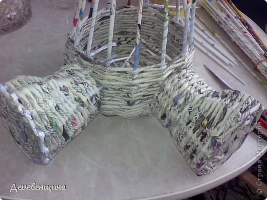 Мастер-класс Плетение Митуюк бумажный  Бумага газетная Трубочки бумажные фото 28
