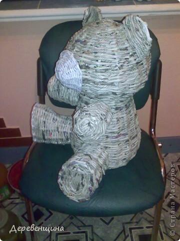 Мастер-класс Плетение Митуюк бумажный  Бумага газетная Трубочки бумажные фото 33