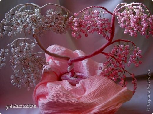 Дерево любви-7 из бисера.
