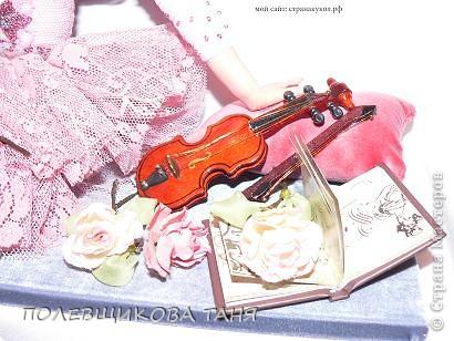 Куклы День рождения Лепка Шитьё Авторская кукла Бог создал женщину из роз Пластика Проволока Ткань фото 4.
