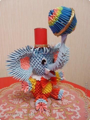 Слоник-циркач Мастер-класс