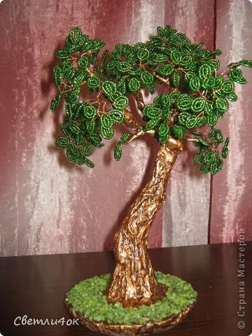 Поделка изделие Бисероплетение деревья из бисера ручная работа Бисер фото 5.