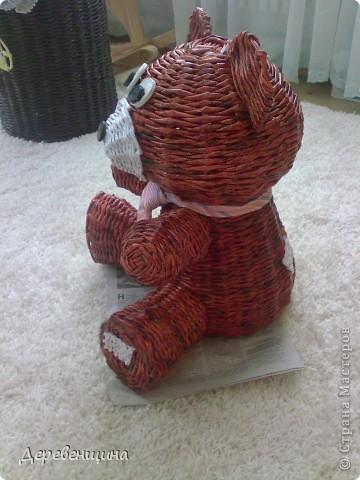 Мастер-класс Плетение Митуюк бумажный  Бумага газетная Трубочки бумажные фото 38
