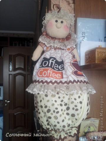 Куколка - пакетница. фото 2
