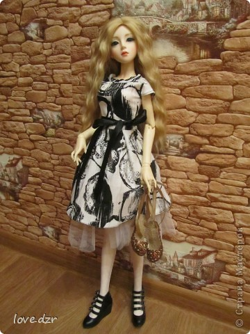 Туфли для куклы и платье. фото 3