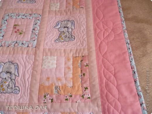 Детское одеяло фото 2
