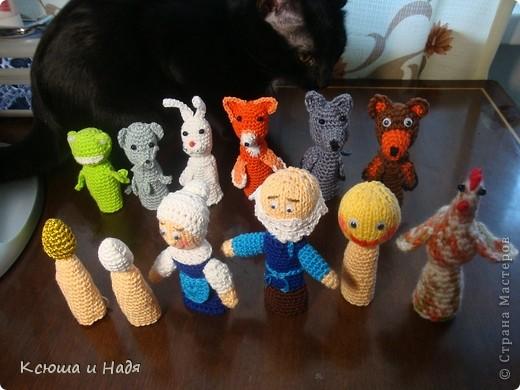 Игры пальчиковые Куклы Вязание