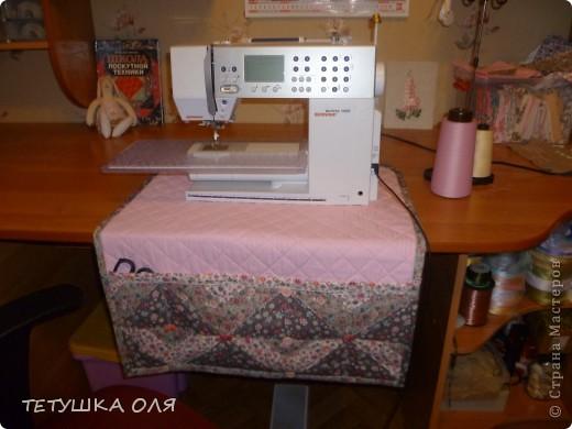 Коврик под машинку-лоскутное шитье.