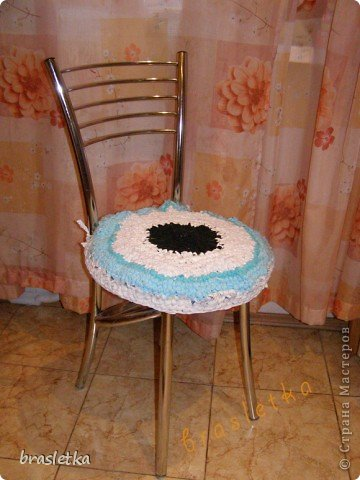 Коврик-сидуха в кресло. фото 3