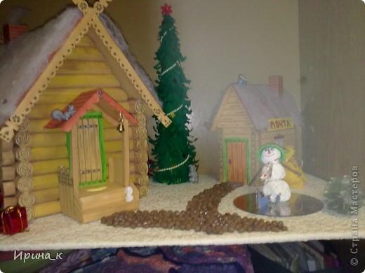 Поделки домики к новому году в детский сад