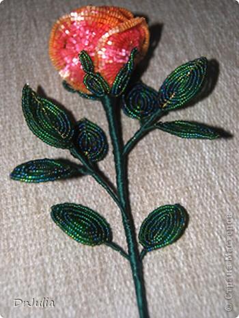 Цветы и поделки из бисера