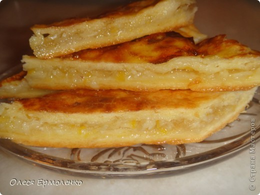 Девочки всем привет!Хочу поделиться лимонным пирогом! Я его просто обожаю!