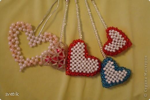 брелки- сердечки+схемы