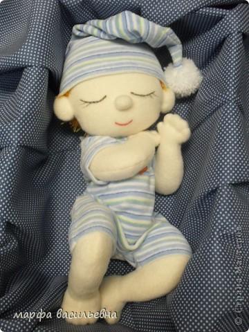 Куклы Шитьё Тимошка Пряжа Ткань фото 6