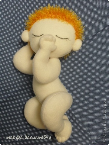 Куклы Шитьё Тимошка Пряжа Ткань фото 3