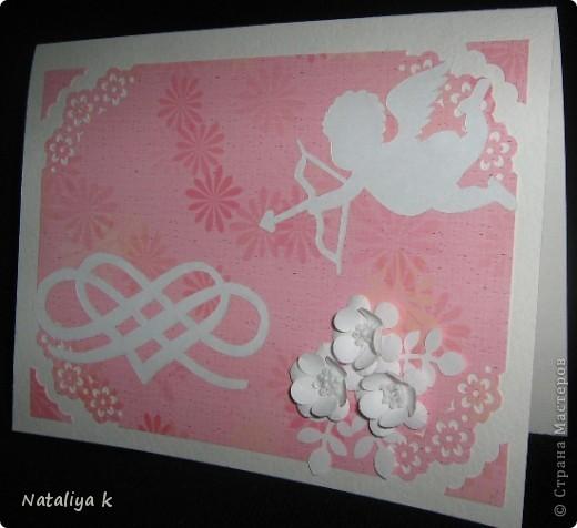 А эта открыточка - младшая сестрёнка-близняшка предыдущей ))) фото 1