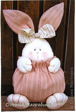 Вот такая вот зайка - подарок любимой крестнице. Внутри - конфетки и мандаринки.  фото 8
