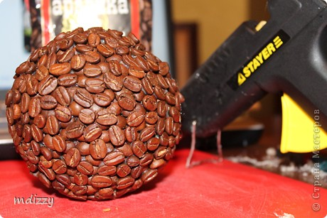 Мастер-класс (мини) Кофейное деревце (топиарий) фото 7