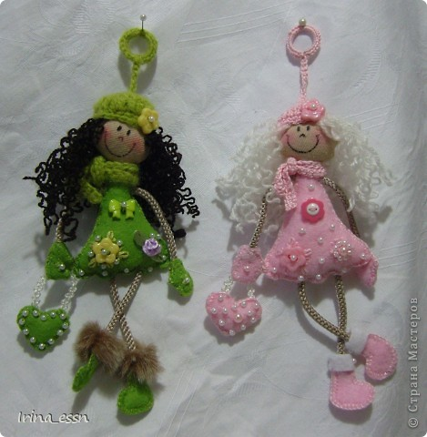 куколки-брелоки своими руками