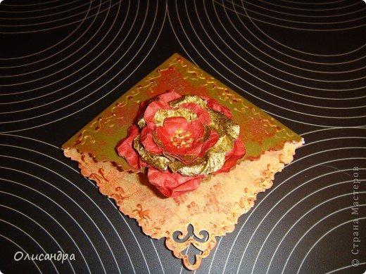 """Давно не скрапила...Соскучилась по этому занятию...И опять было страшно начинать... Продолжаю делать домики, """"заклинило"""" ...:)) МК по закладочкам здесь... http://scraphouse.ru/masterclass/flowers-and-decorations/beautiful-bookmarks-for-book.html фото 25"""