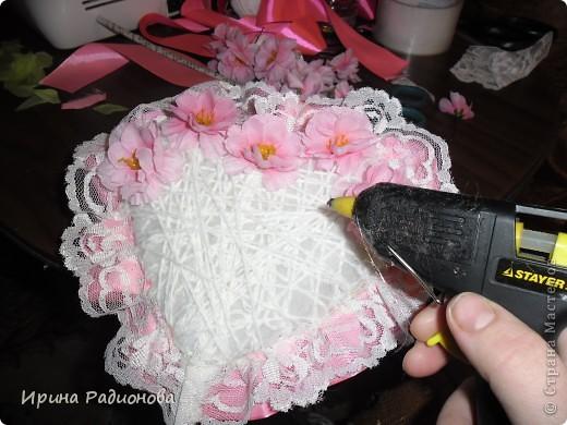Мастер-класс Поделка изделие Валентинов день дерево любви двустороннее ЧАСТЬ 2 фото 7