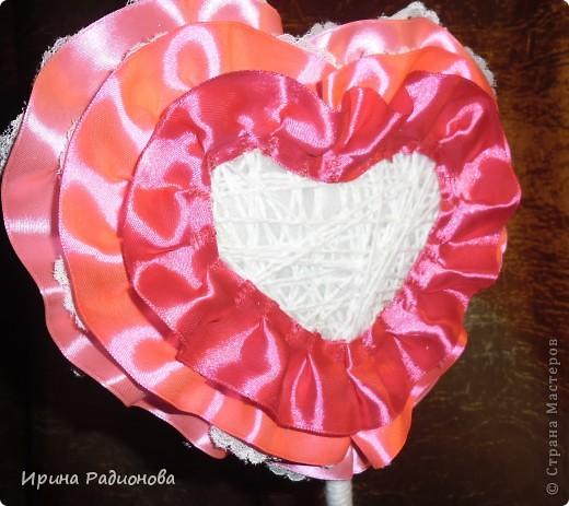 Мастер-класс Поделка изделие Валентинов день дерево любви двустороннее ЧАСТЬ 2 фото 9